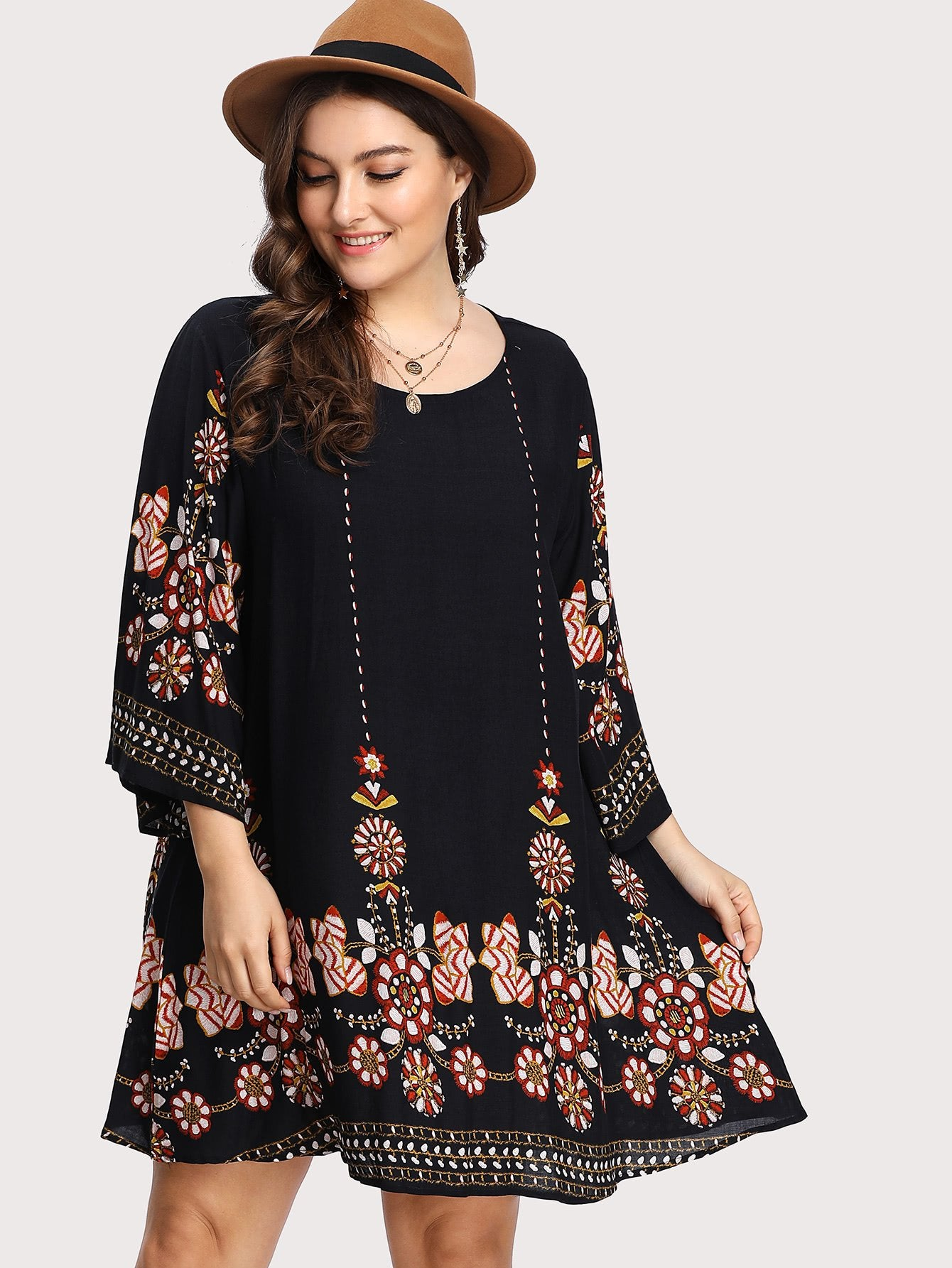 Curve Casa Dress - Boho Buys