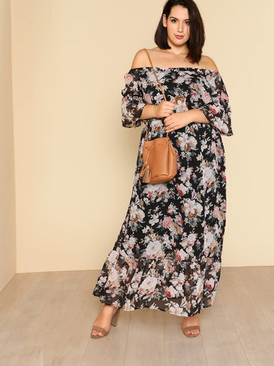 PLUS SIZE Kahuku Maxi Dress - Boho Buys