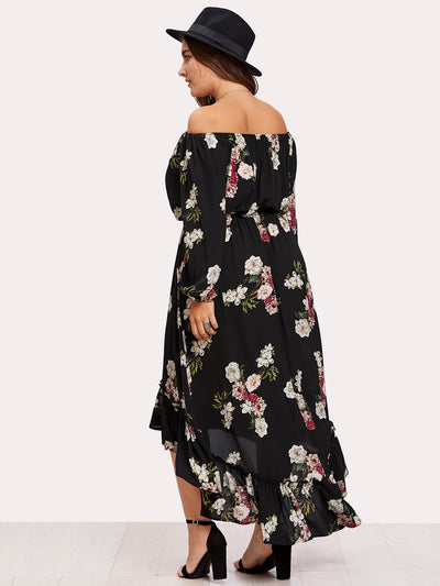 PLUS SIZE Helena Dress - Boho Buys