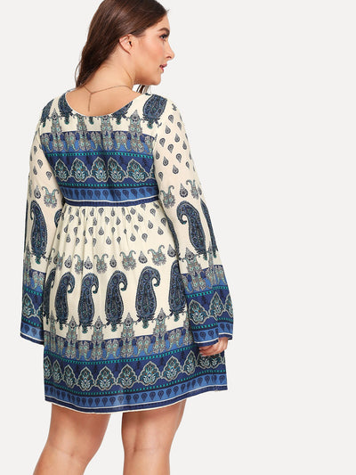PLUS SIZE Avalon Dress - Boho Buys