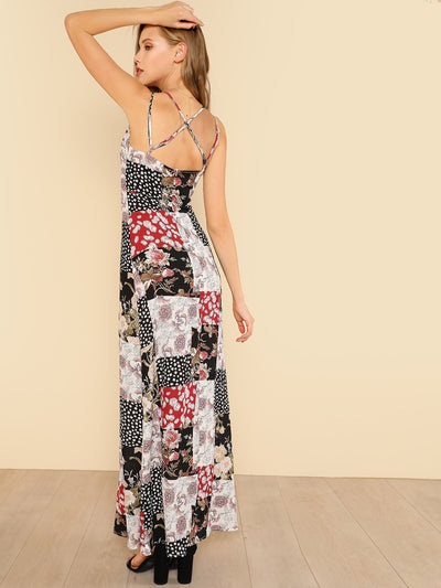 Mara Slip Maxi Dress - Boho Buys