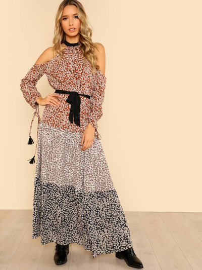 Wild At Heart Maxi Dress - Boho Buys