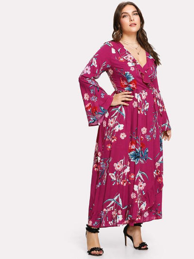 PLUS SIZE Port Maxi Dress - Boho Buys