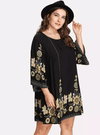PLUS SIZE Marigold Casa Dress - Boho Buys