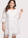 PLUS SIZE Tulum Cotton Dress - Boho Buys