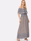 Caprice Flounce Maxi Dress - Boho Buys