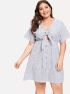 PLUS SIZE Malibu Linen Dress - Boho Buys