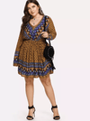 PLUS SIZE Wyoming Dress - Boho Buys