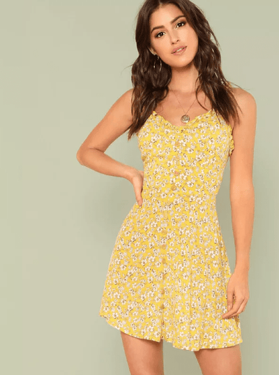 Corina Cotton Dress - Boho Buys