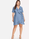 PLUS SIZE Odette Dress - Boho Buys