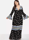 PLUS SIZE Lillian Maxi Dress - Boho Buys