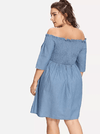 PLUS SIZE Jolie Dress - Boho Buys