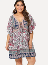 PLUS SIZE Neptune Dress - Boho Buys