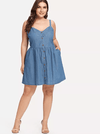 PLUS SIZE Tribeca Dress - Boho Buys