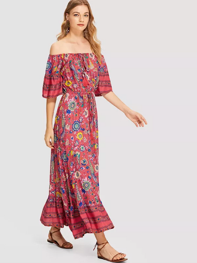 Elanora Maxi Dress - Boho Buys