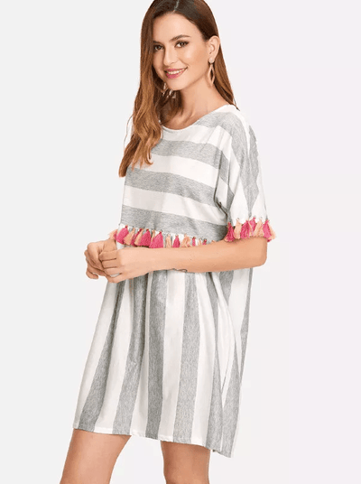 Scorpio Tassel Dress - Boho Buys