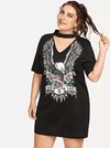 PLUS SIZE Live & Love Tee Dress - Boho Buys
