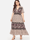 PLUS SIZE All Thing Nice Maxi Dress - Boho Buys