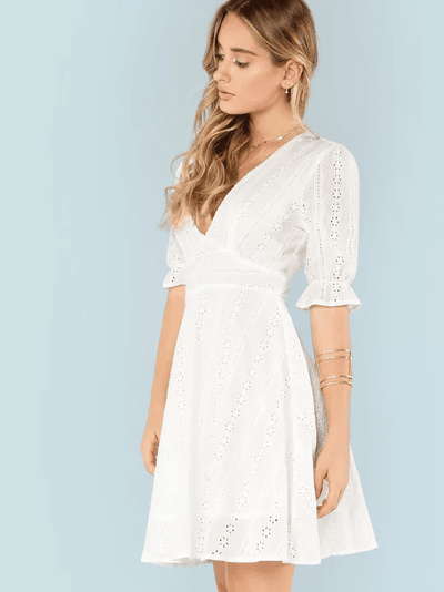 The Argyle Cotton Dress - Boho Buys