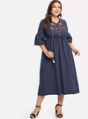 PLUS SIZE Roma Dress - Boho Buys