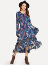 Midnight Blues Dress - Boho Buys