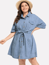 PLUS SIZE Haylee Dress - Boho Buys