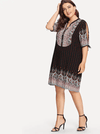 PLUS SIZE Shona Dress - Boho Buys