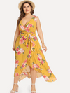 PLUS SIZE Dilana Dress | ONE LEFT - Boho Buys