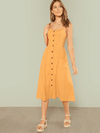 Burleigh Cotton Dress | Marigold - Boho Buys