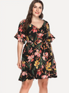 PLUS SIZE Lagoons Dress - Boho Buys