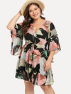 PLUS SIZE Romeo Kaftan Dress - Boho Buys