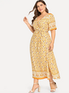 PLUS SIZE Marigold Dress - Boho Buys