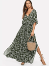 Modern Mexicana Dress | Green - Boho Buys