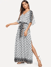 Modern Mexicana Dress | Mazatlan Print - Boho Buys