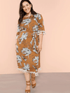 PLUS SIZE Simba Dress - Boho Buys