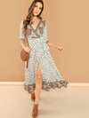 Wild Dream Cotton Maxi - Boho Buys