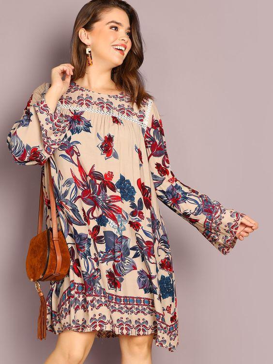 PLUS SIZE Penny Dress - Boho Buys