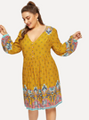 PLUS SIZE Bobbi Dress | ONE LEFT - Boho Buys