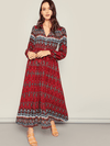 Red Wine Maxi - Boho Buys