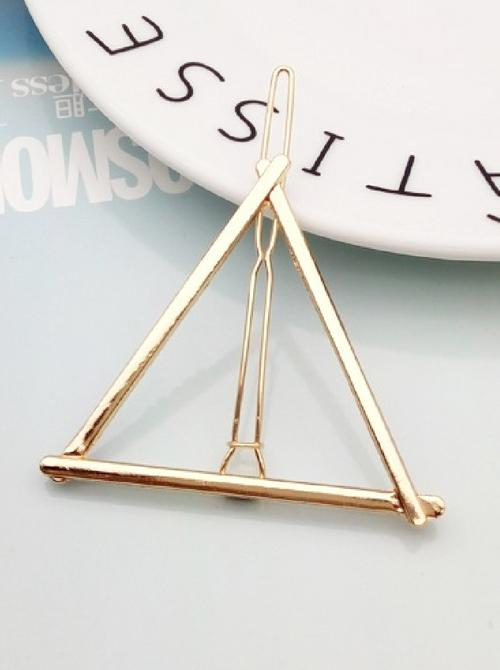 Triangle Hair Clip | GOLD - Boho Buys