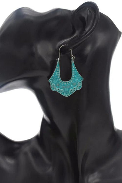 Jade Bliss Earrings - Boho Buys