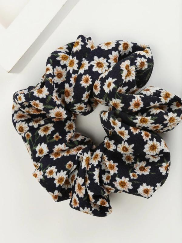 Prairie Scrunchie | NAVY - Boho Buys