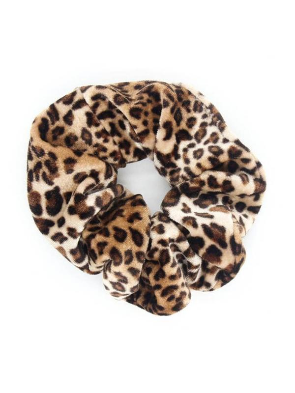 Big Game Velvet Scrunchie - Boho Buys