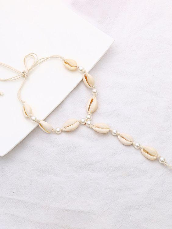 Honeymooner Shell Anklet - Boho Buys