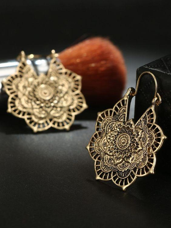 Cosmic Lights Earrings | GOLD - Boho Buys