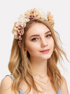 Vania Flower Headband - Boho Buys
