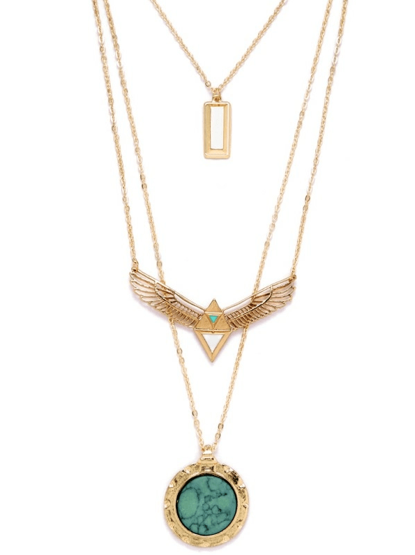 Skye Layered Necklace - Boho Buys