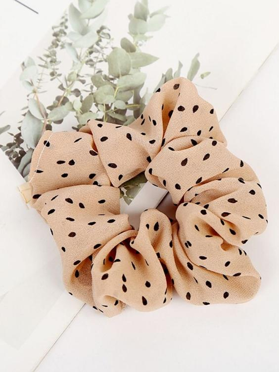 Georgie Scrunchie | CREME - Boho Buys