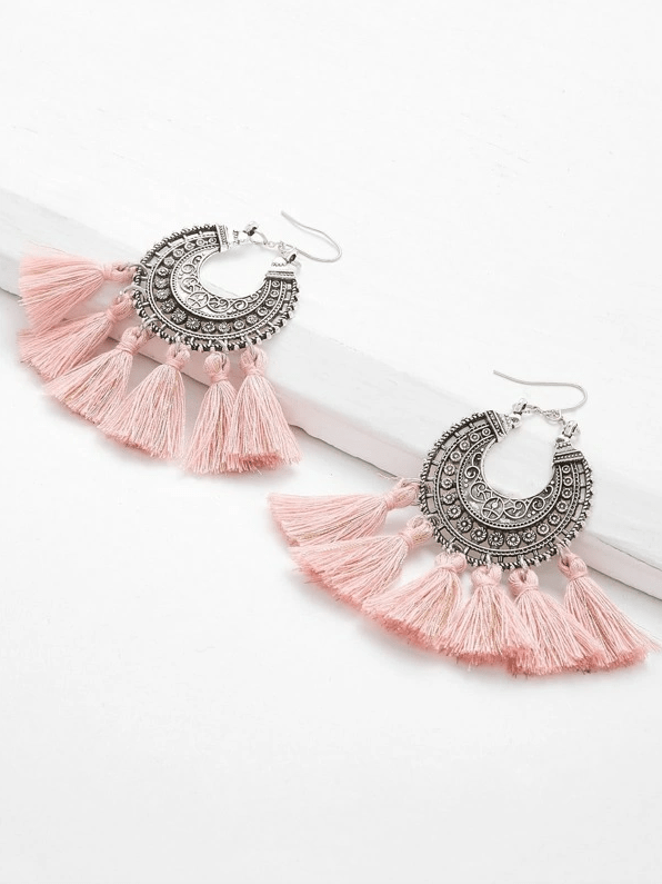 Nevada Tassel Earrings - Boho Buys