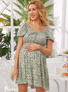 BOHO BUMP Aleksa Peasant Dress - Boho Buys